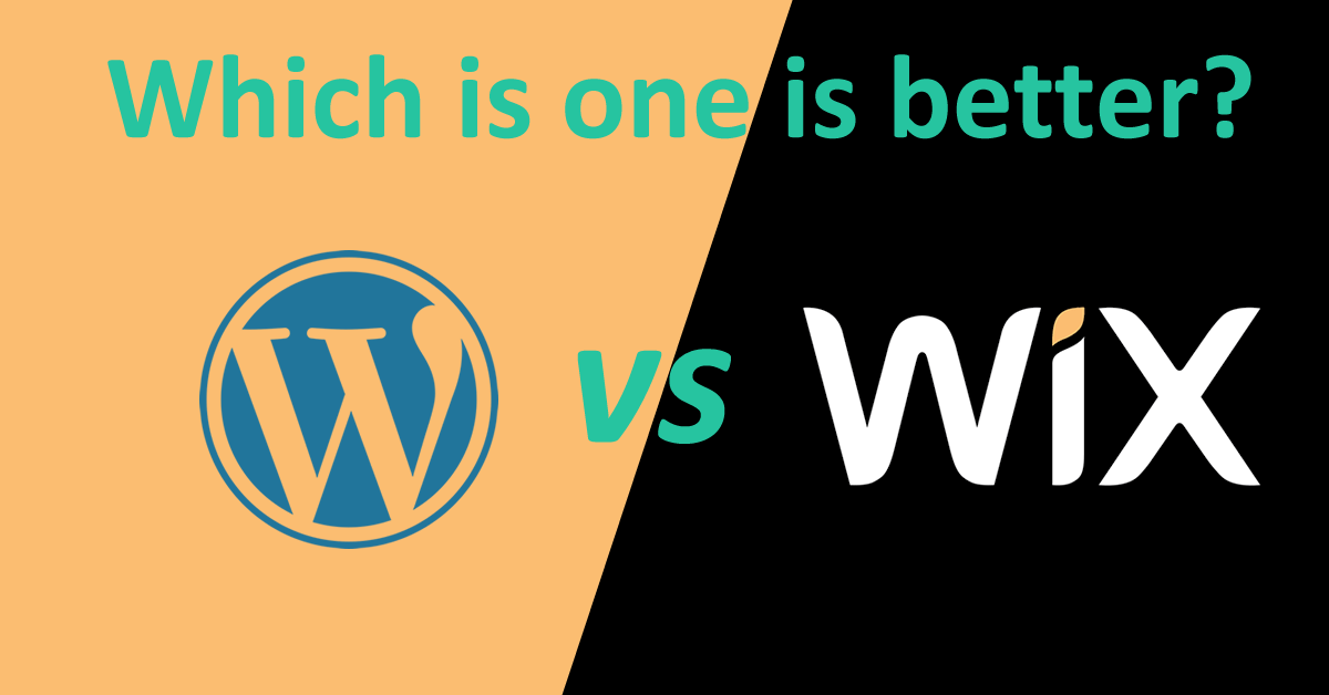Wix vs WordPress : Which one is better for build a website in 2021
