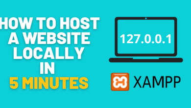 How-to-host-a-website-locally