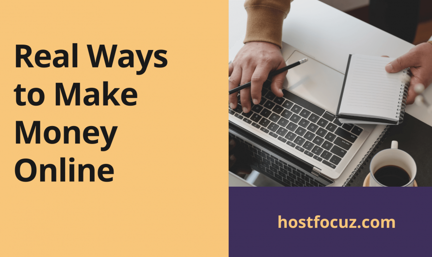 5 Best real ways to make money online